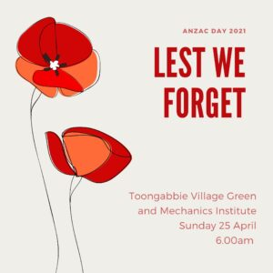 Read more about the article ANZAC Day 2021