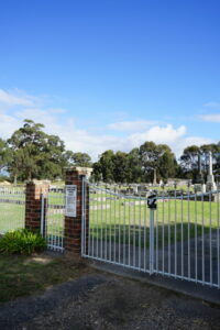 Cemetery Toongabbie Victoria