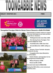 Read more about the article Winter 2021 Toongabbie News