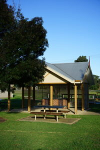 Read more about the article Repainting of the BBQ Area and Improvements to Village Green 2019