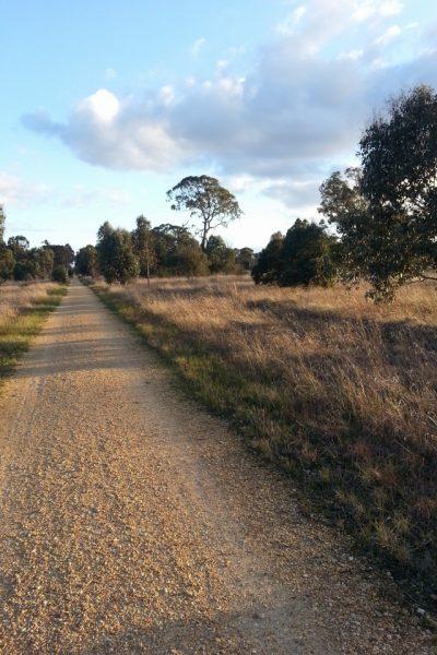 Gippsland Plains Rail Trail Toongabbie Victoria